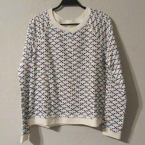True Craft Print Sweater NWOT XL